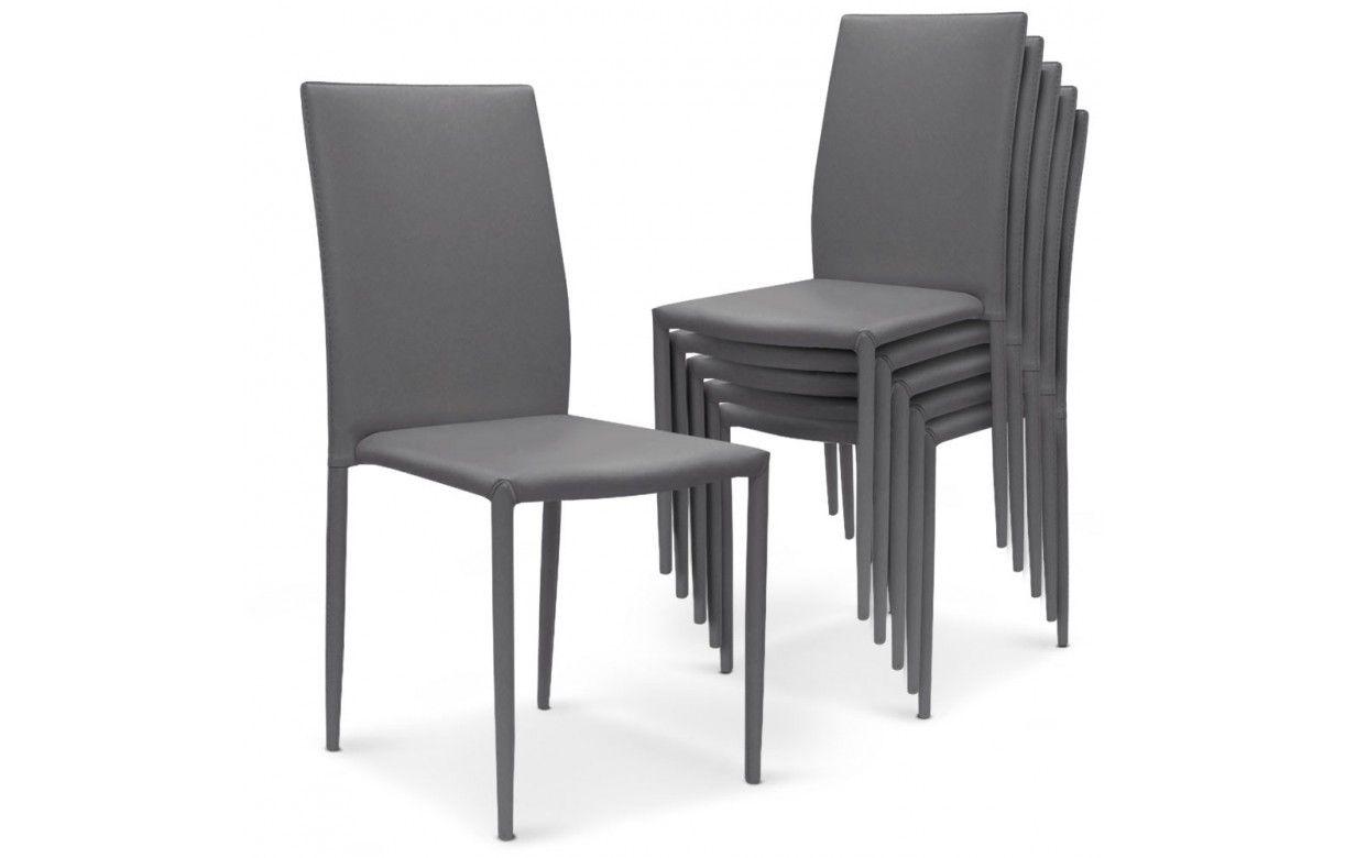 Housse de chaise en simili cuir belle location housse de - Location housse de chaise montpellier ...