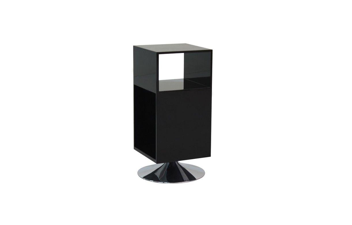 table de chevet design avec rangements et pied m tal fridy 4 coloris decome store. Black Bedroom Furniture Sets. Home Design Ideas