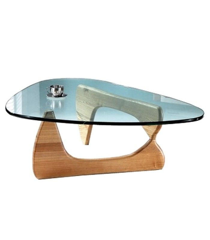 Table basse design en verre et bois boomy decome store for Table basse en verre but