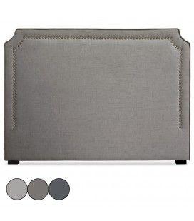 Tête de lit en tissu 160cm en tissu beige taupe ou gris Milany