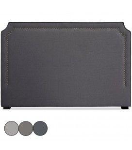 Tête de lit en tissu 180cm en tissu taupe gris ou beige Milany