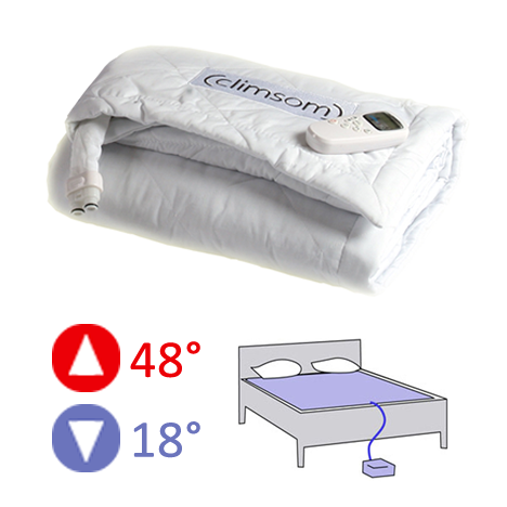 matelas climatis rafraichissant ou chauffant 2 places. Black Bedroom Furniture Sets. Home Design Ideas