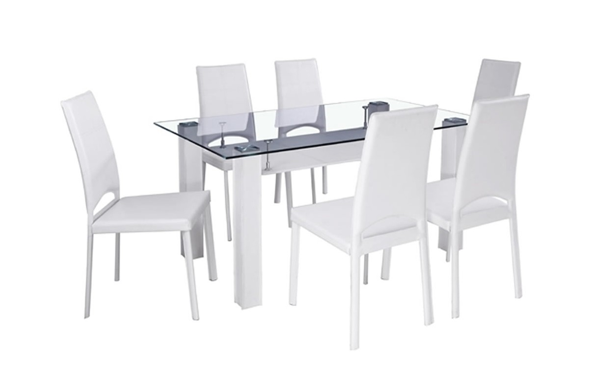 Table salle a manger avec chaises maison design for Chaise table a manger
