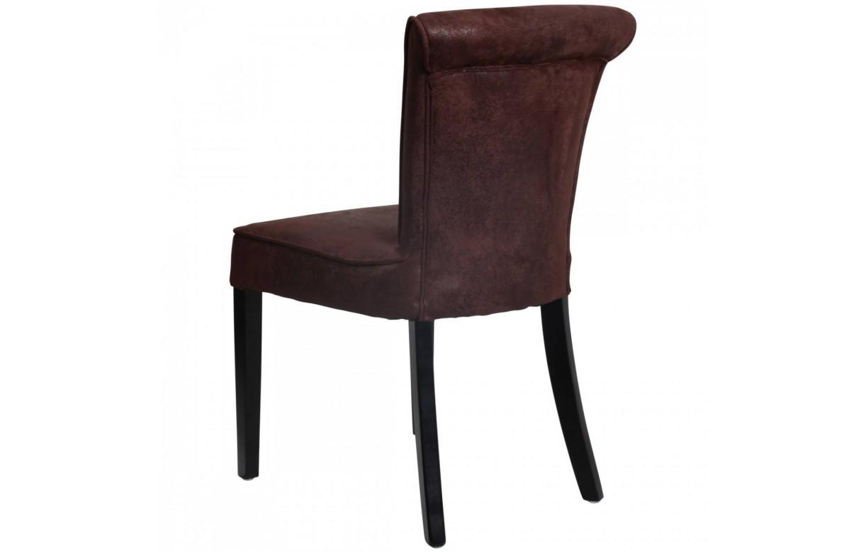 Lot de 2 chaises en velours design toky 5 coloris for Chaise velours salle a manger