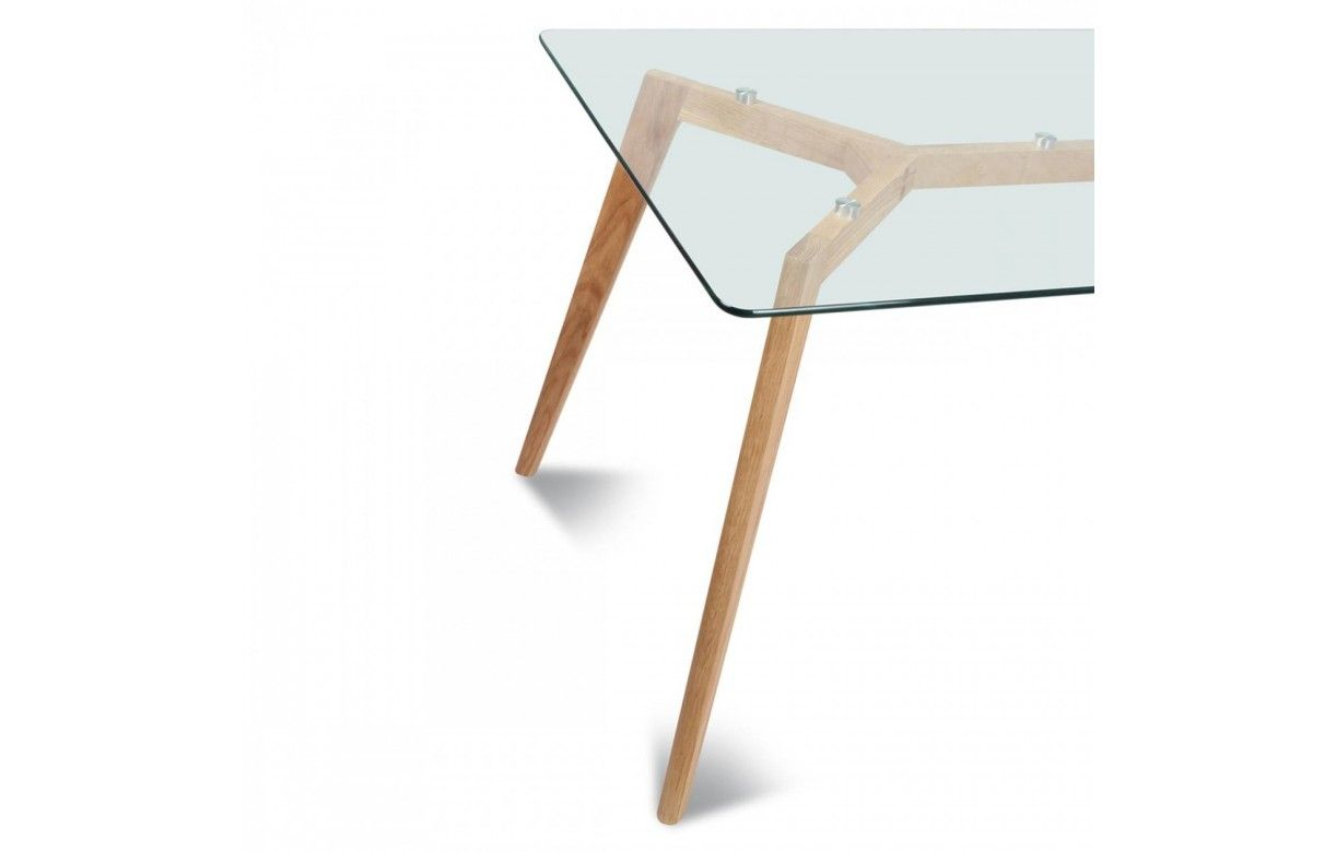 table verre 12 couverts