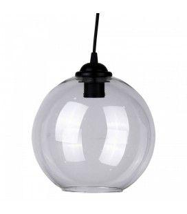 Suspension boule en verre diam 22 cm Boly