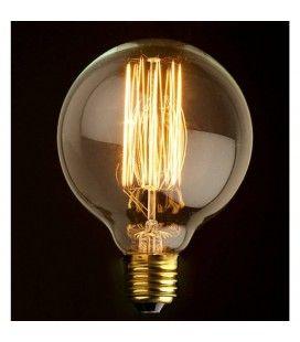 Ampoule décorative globe 8cm design style Edison 60W