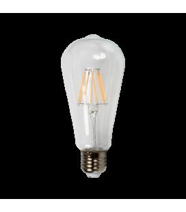 Ampoule LED décorative 6,4cm cône 8W (75W)