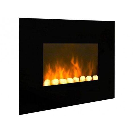 radiateur lectrique imitation feu chemin e black fire. Black Bedroom Furniture Sets. Home Design Ideas