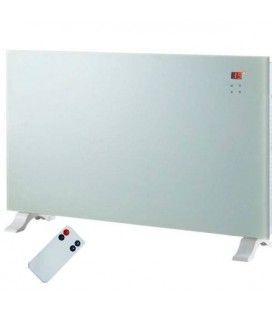 Radiateur electrique design blanc écran LCD