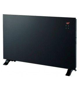 Radiateur electrique design noir écran LCD