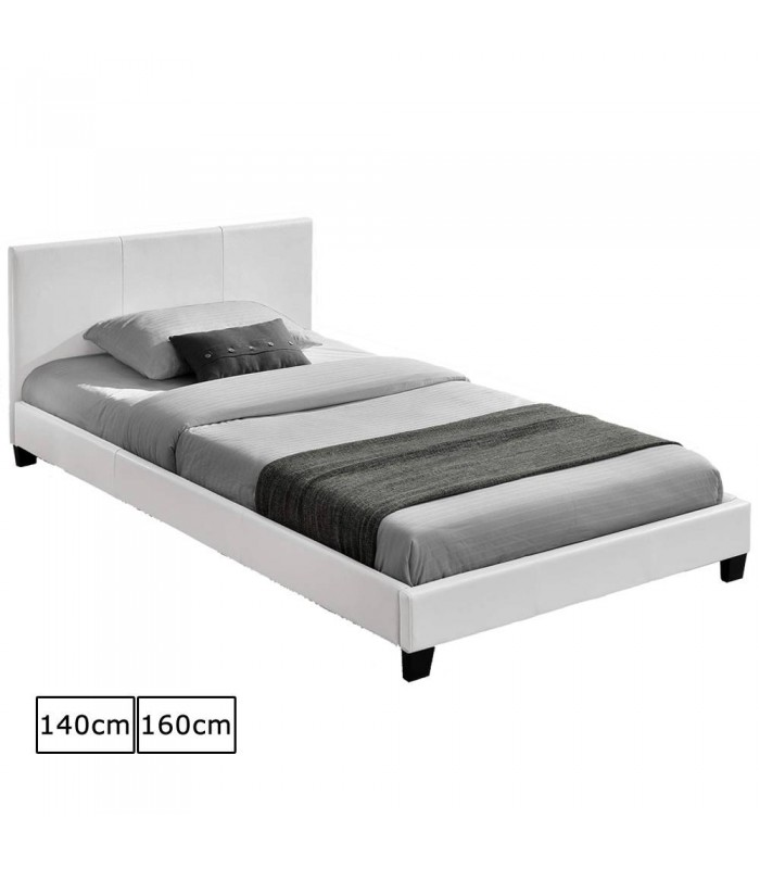 tete de lit en cuir blanc pas cher. Black Bedroom Furniture Sets. Home Design Ideas