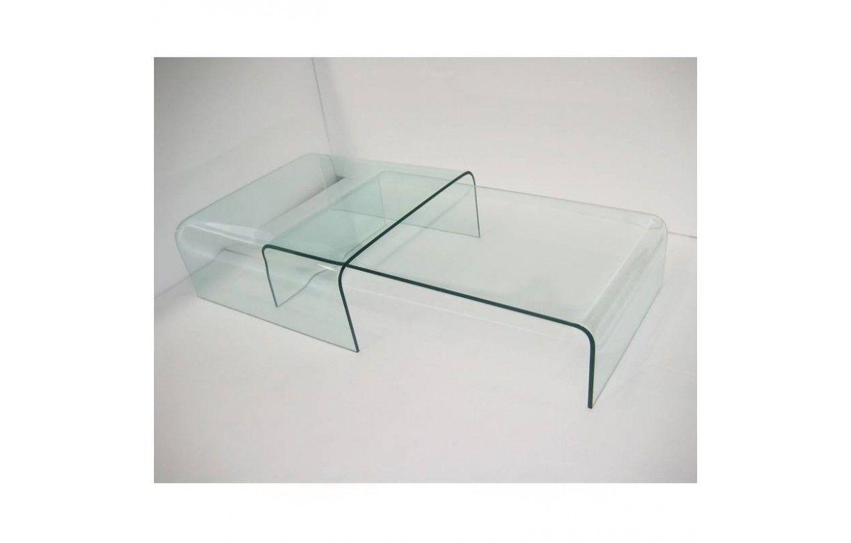 table basse gigogne en verre design haut de gamme bady. Black Bedroom Furniture Sets. Home Design Ideas