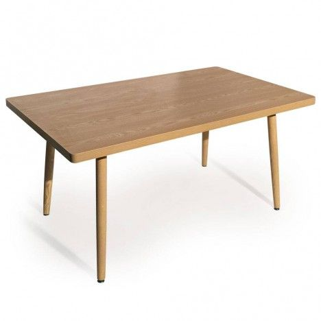 Table rectangulaire pas cher design scandinave for Table rectangulaire scandinave