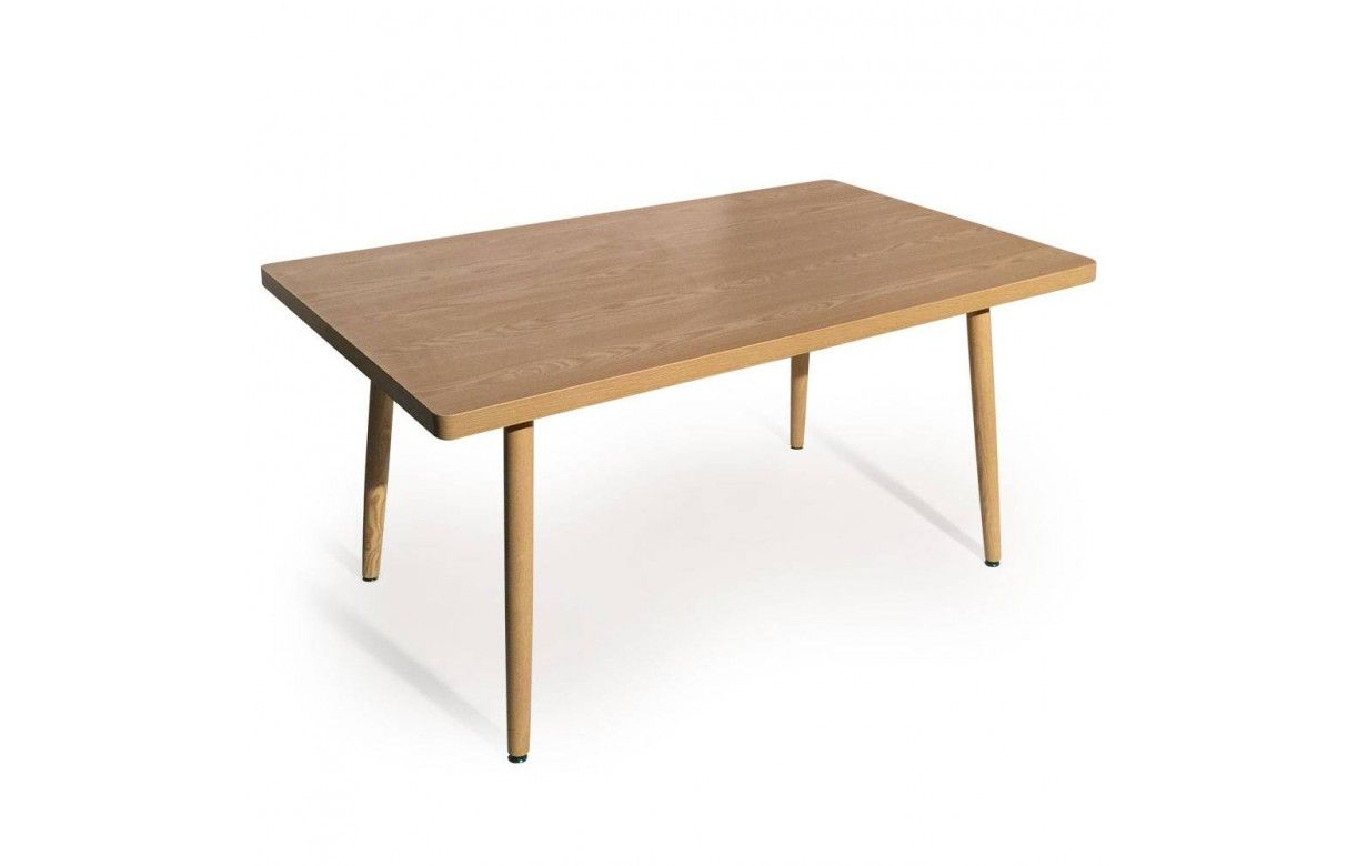 Table rectangulaire pas cher design scandinave for Table de salle a manger pliable