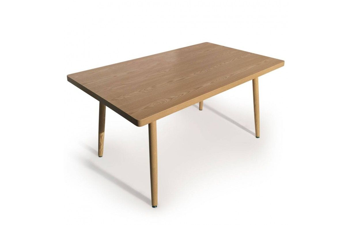 Table rectangulaire pas cher design scandinave # Table Rectangulaire Bois