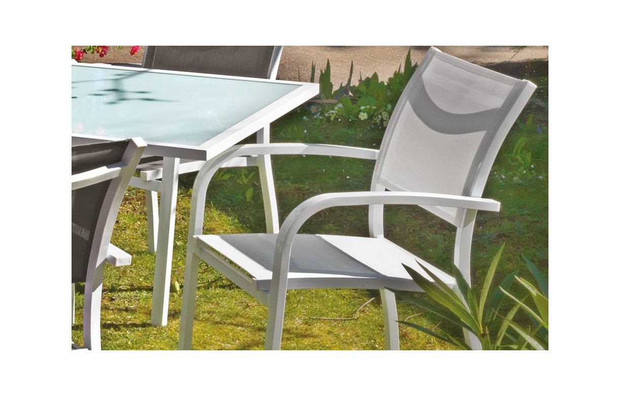 Best table de jardin extensible pol ideas awesome for Table extensible noir et blanc
