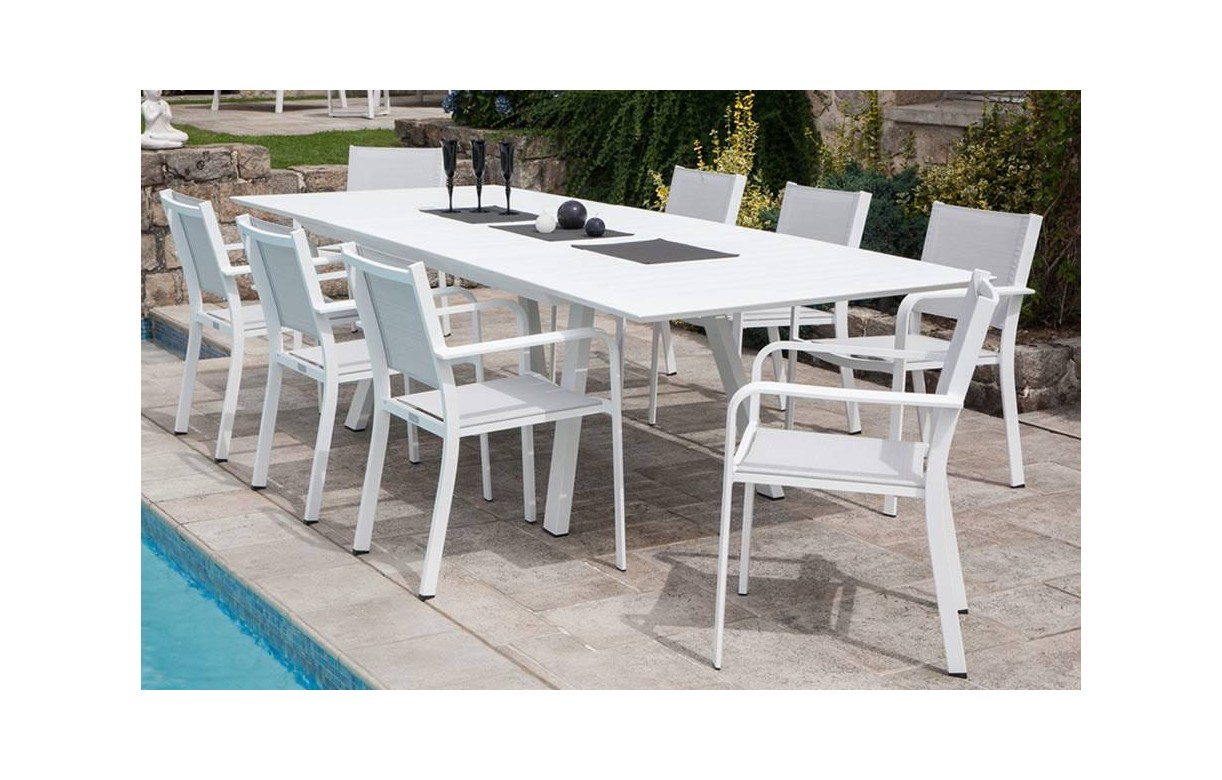 Beautiful nettoyer table de jardin blanche photos - Comment nettoyer une table de jardin blanche ...