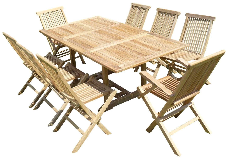 table teck exterieur table teck luke with table teck exterieur mobilier jardin rsistant et. Black Bedroom Furniture Sets. Home Design Ideas