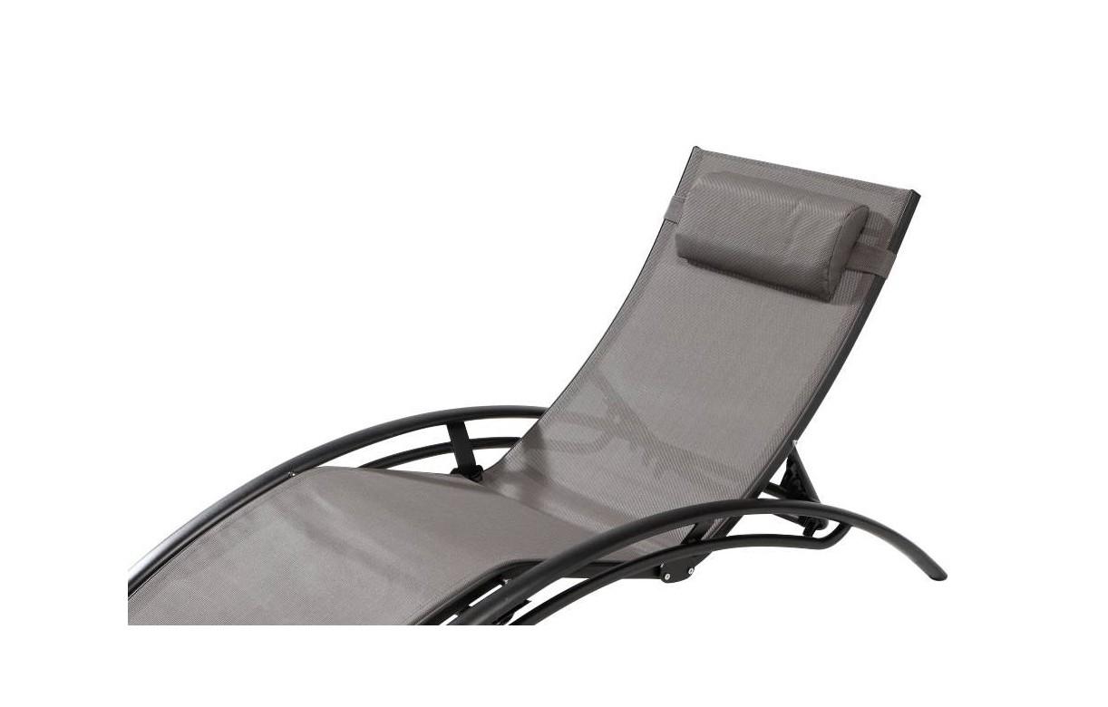 bain de soleil en aluminium et textil ne lavandou. Black Bedroom Furniture Sets. Home Design Ideas