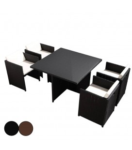 tables et chaises de jardin decome store. Black Bedroom Furniture Sets. Home Design Ideas