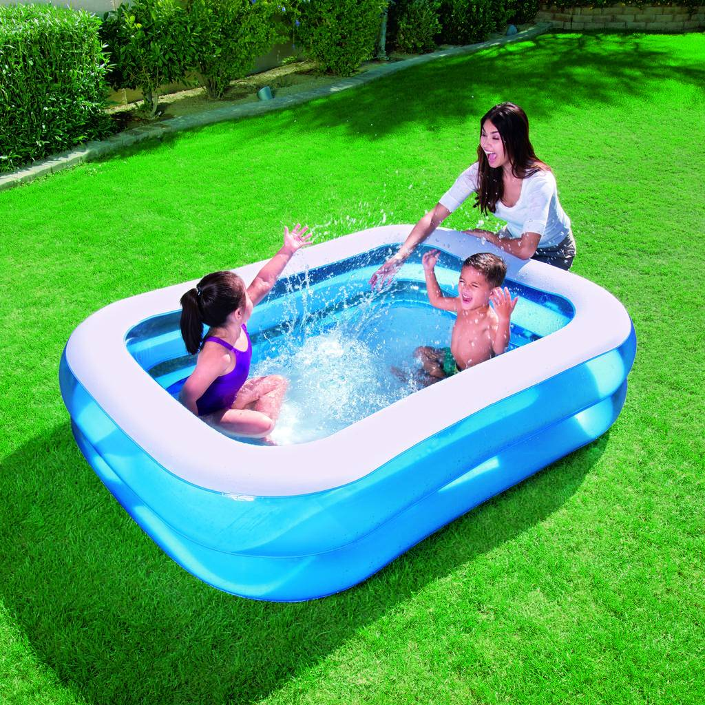 Piscine gonflable bestway for Piscine rectangulaire bestway