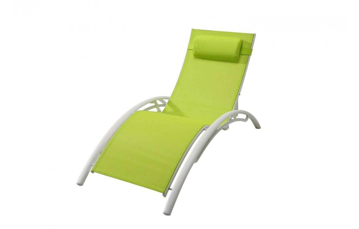 lot de 2 transats bain de soleil en alu et textil ne lavandou. Black Bedroom Furniture Sets. Home Design Ideas