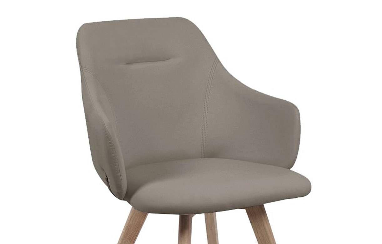 Chaise avec accoudoirs style scandinave set de 2 - Chaise avec accoudoirs ...
