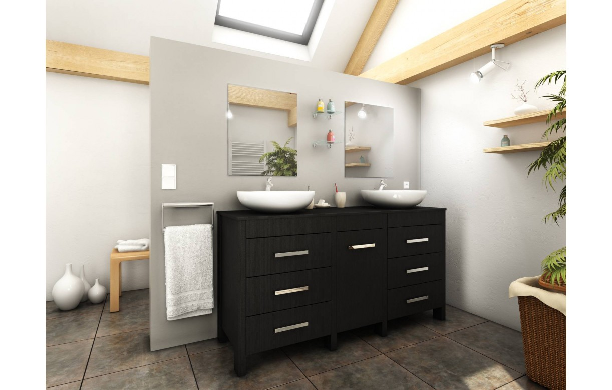 d coration salle de bain noir bois 37 rennes salle de. Black Bedroom Furniture Sets. Home Design Ideas