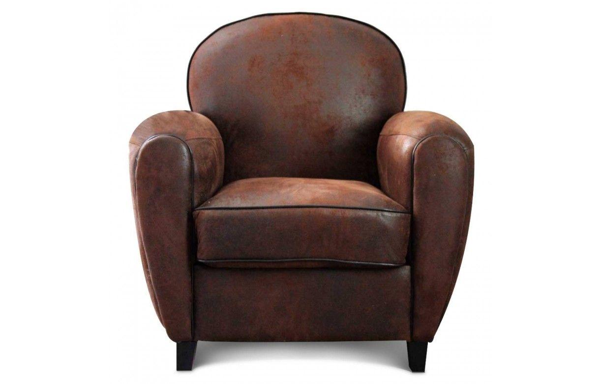 100 fauteuil club cuir marron vintage fauteuil club cuir trendy fauteu - Fauteuil vintage cuir ...