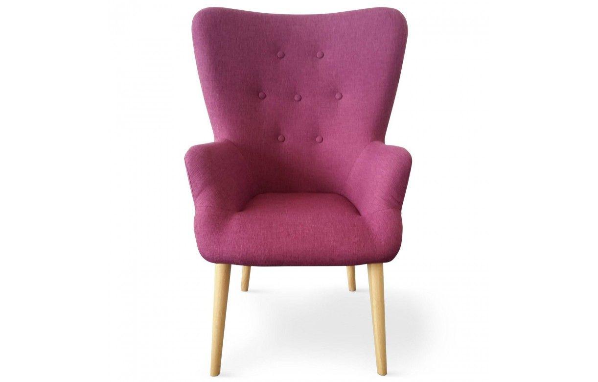 fauteuil scandinave barkley en tissu 4 coloris. Black Bedroom Furniture Sets. Home Design Ideas