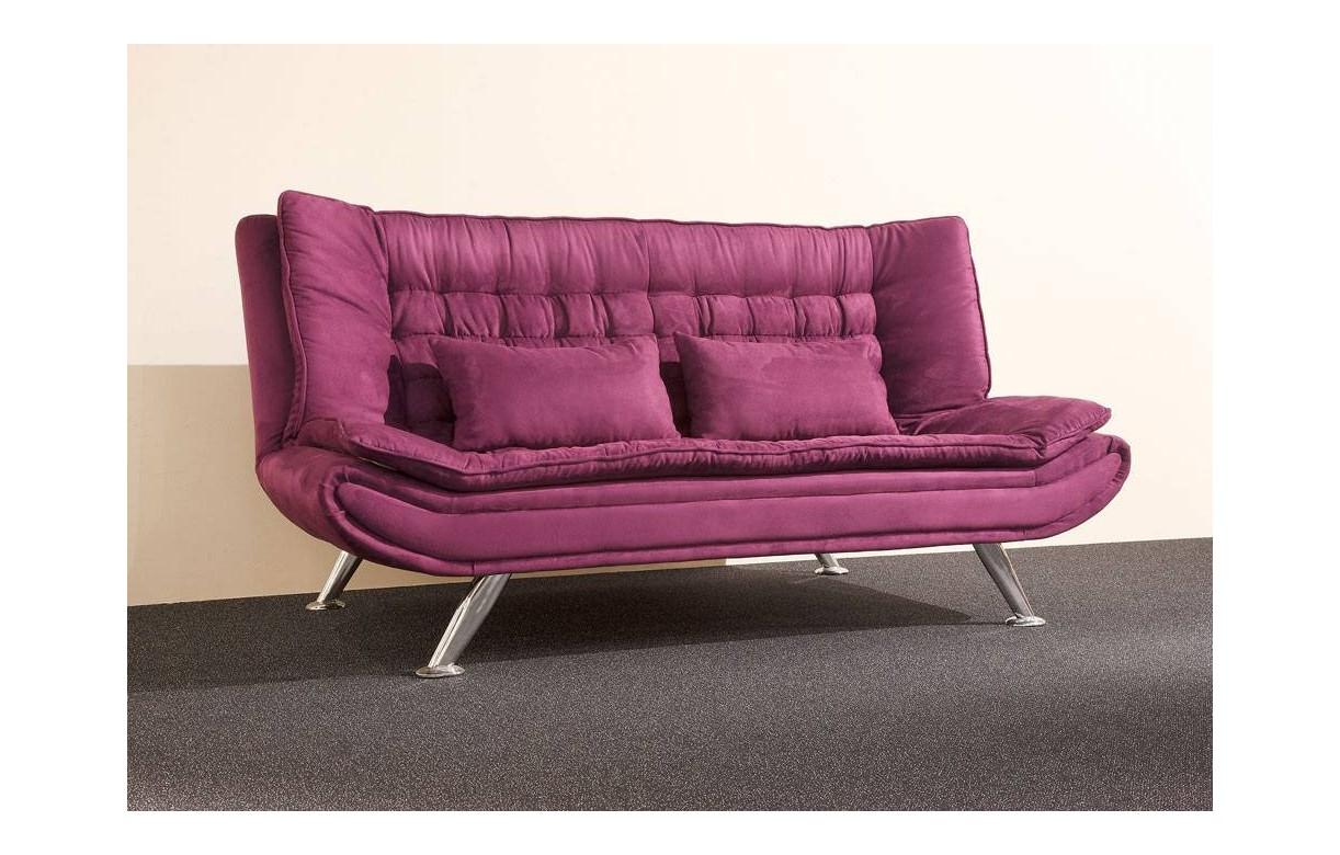canap convertible clic clac en tissu capitonn decome store. Black Bedroom Furniture Sets. Home Design Ideas
