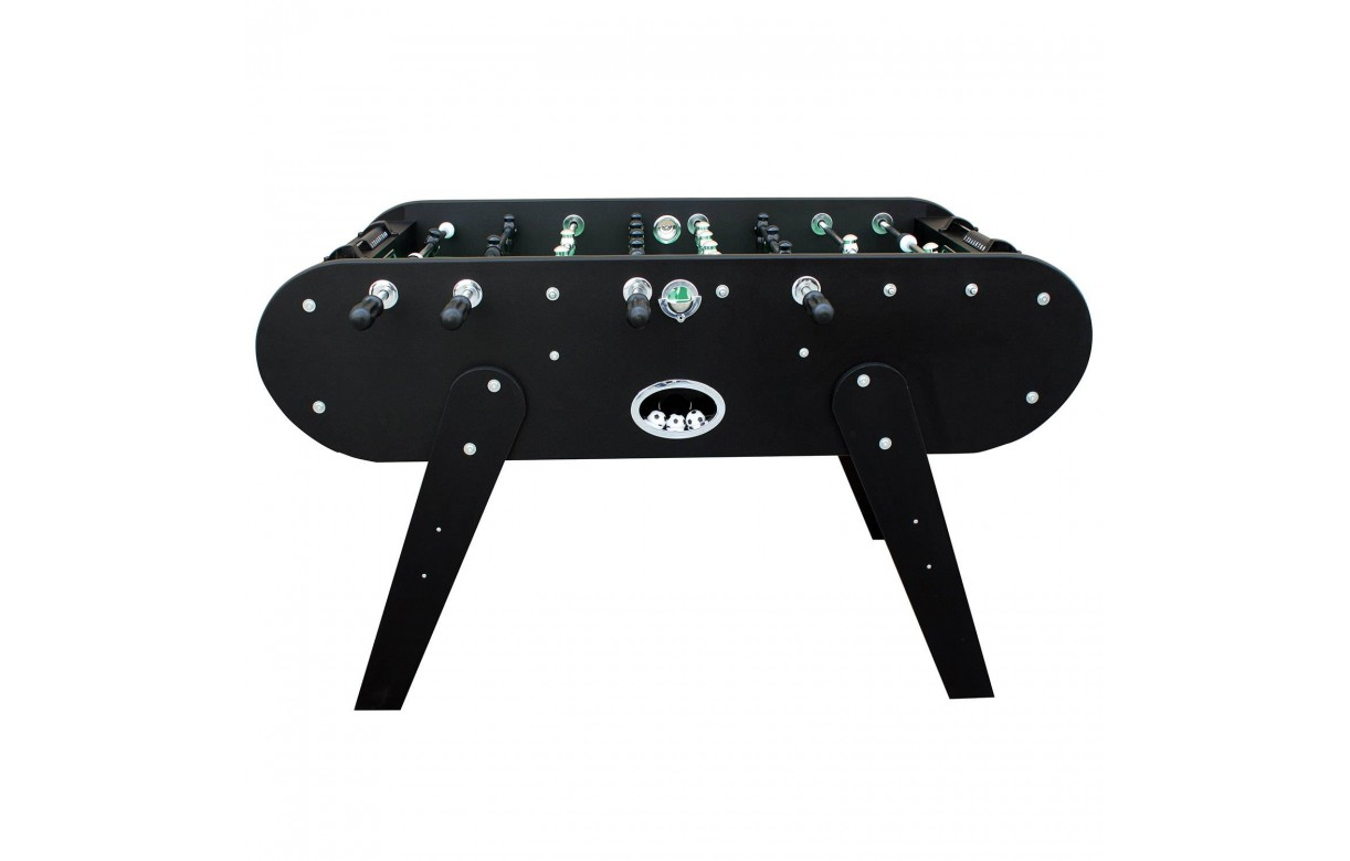 baby foot noir design 8 barres cm decome store. Black Bedroom Furniture Sets. Home Design Ideas