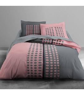 Housse de couette 220 x 240 cm + 2 taies Pink vision