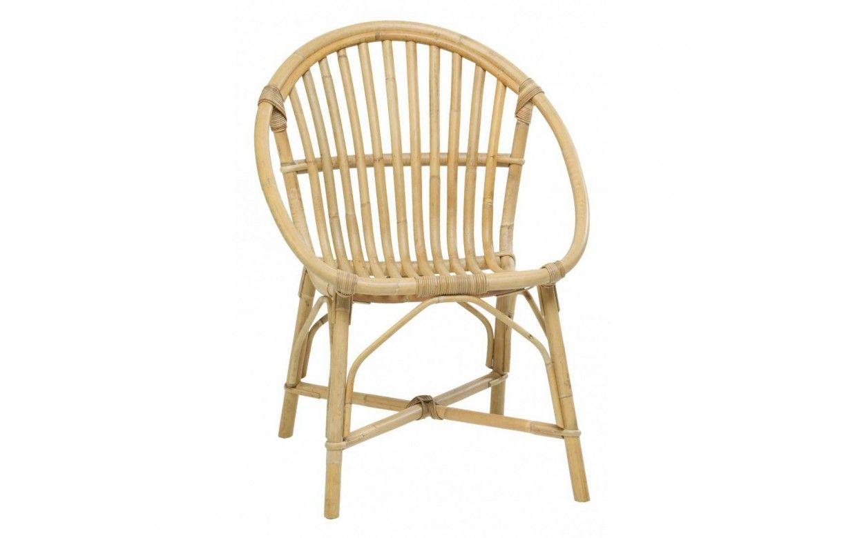 fauteuil empilable en rotin naturel bruno. Black Bedroom Furniture Sets. Home Design Ideas