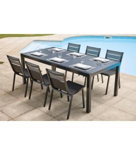 tables et chaises de jardin decome store. Black Bedroom Furniture Sets. Home Design Ideas
