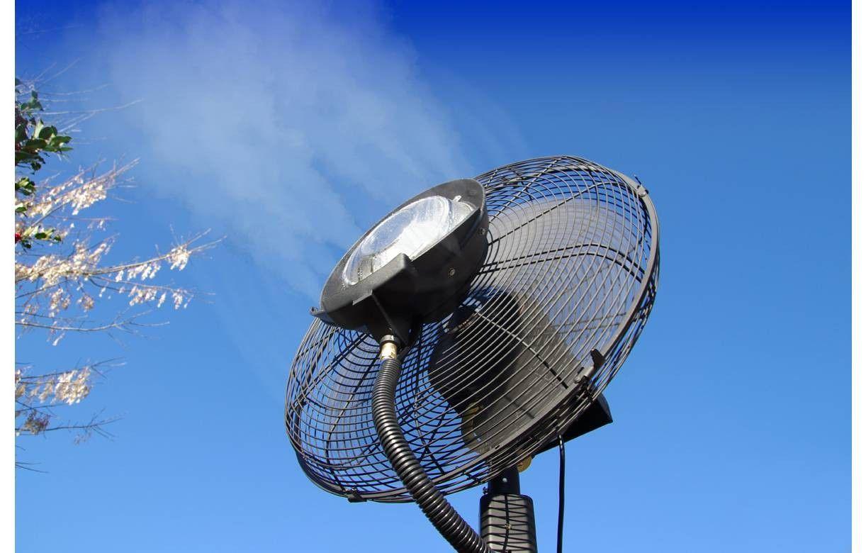 Ventilateur brumisateur professionnel haute performance 180cm for Ventilateur exterieur