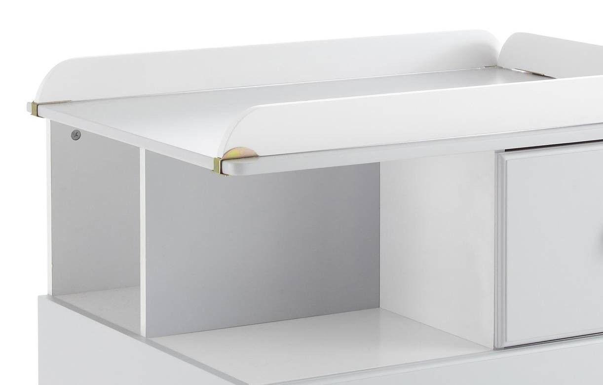 table langer commode grise 3 tiroirs bali. Black Bedroom Furniture Sets. Home Design Ideas