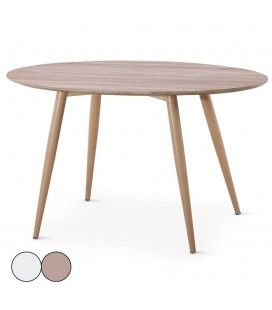 Table ronde decome store - Table ronde bois clair ...