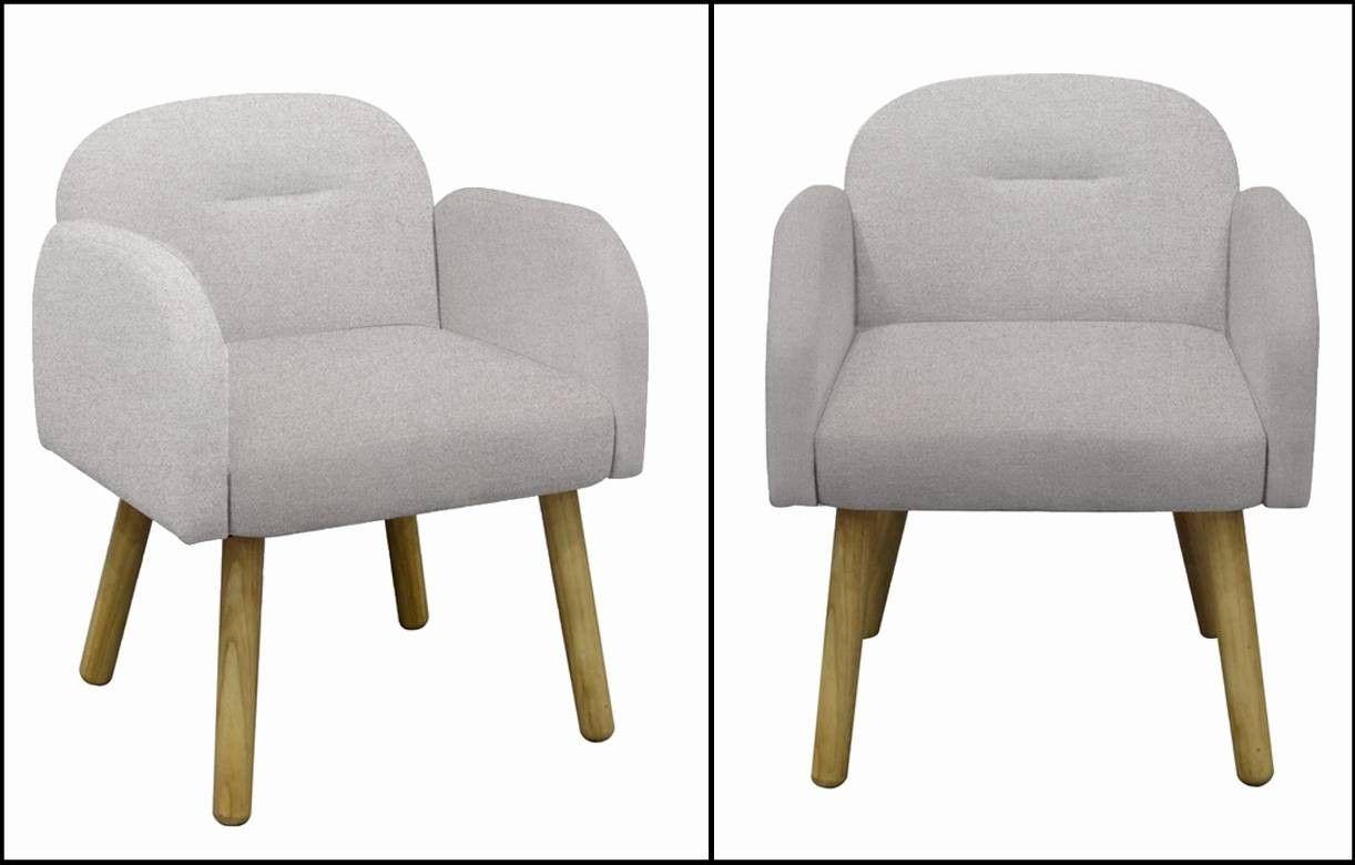 Chaise fauteuil design scandinave en tissu hans decome store - Chaise tissu design ...