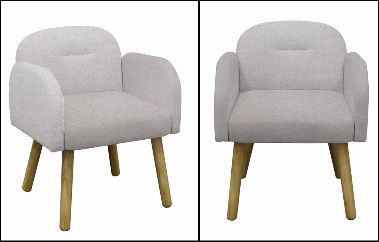 Chaise fauteuil design scandinave en tissu hans decome store for Chaise design scandinave