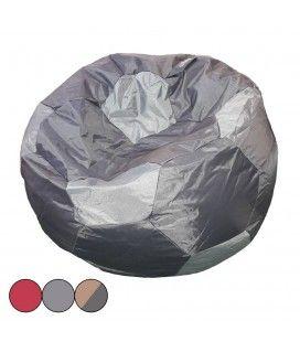 Pouf géant ballon de foot intérieur ou extérieur - 3 coloris