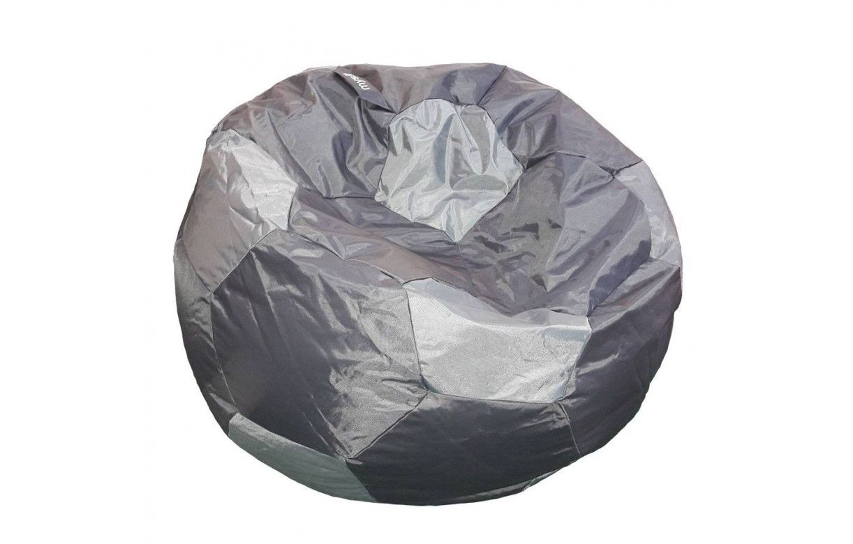 Pouf g ant ballon de foot int rieur ou ext rieur 3 coloris for Pouf geant exterieur