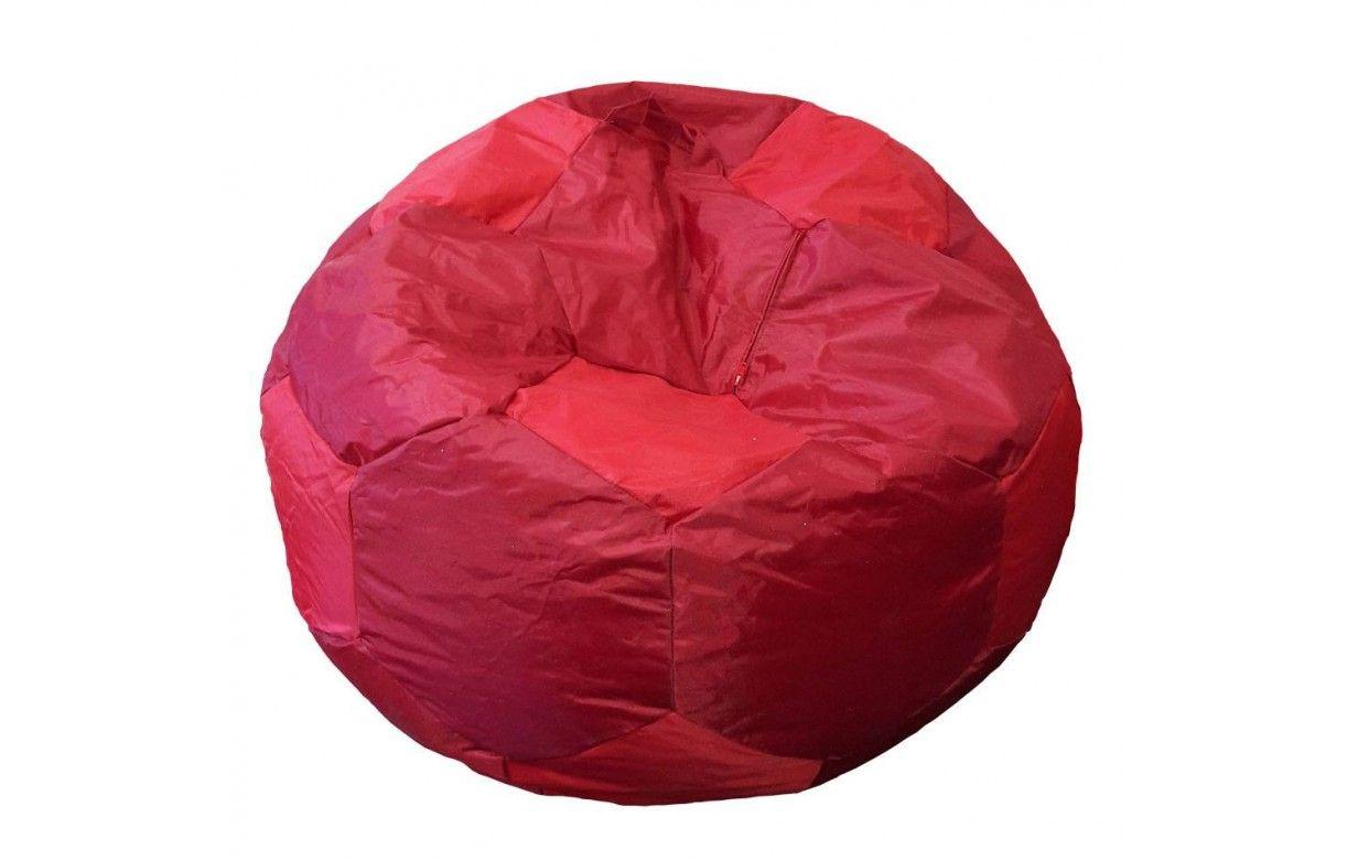 pouf g ant ballon de foot int rieur ou ext rieur 3 coloris. Black Bedroom Furniture Sets. Home Design Ideas