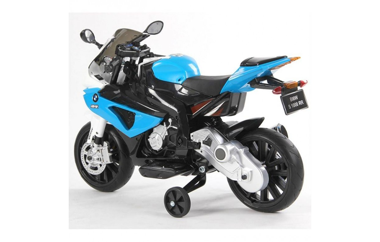 mini moto de course lectrique pour enfant bmw rouge ou bleu. Black Bedroom Furniture Sets. Home Design Ideas