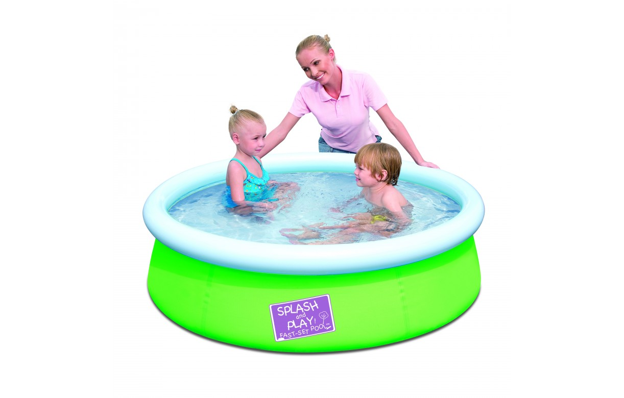 Piscine enfant hors sol ronde bestway junior 57241v for Piscine hors sol bestway
