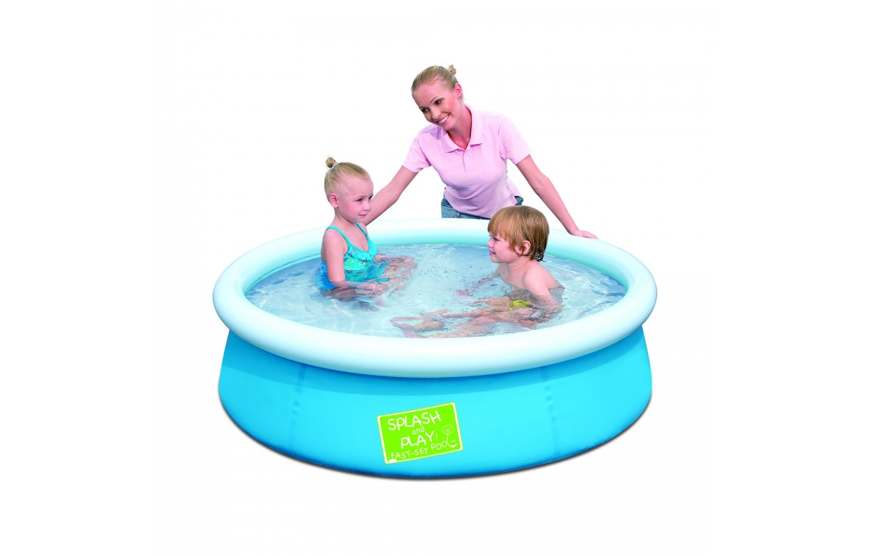 Piscine enfant hors sol ronde bestway junior 57241b for Piscine hors sol bestway