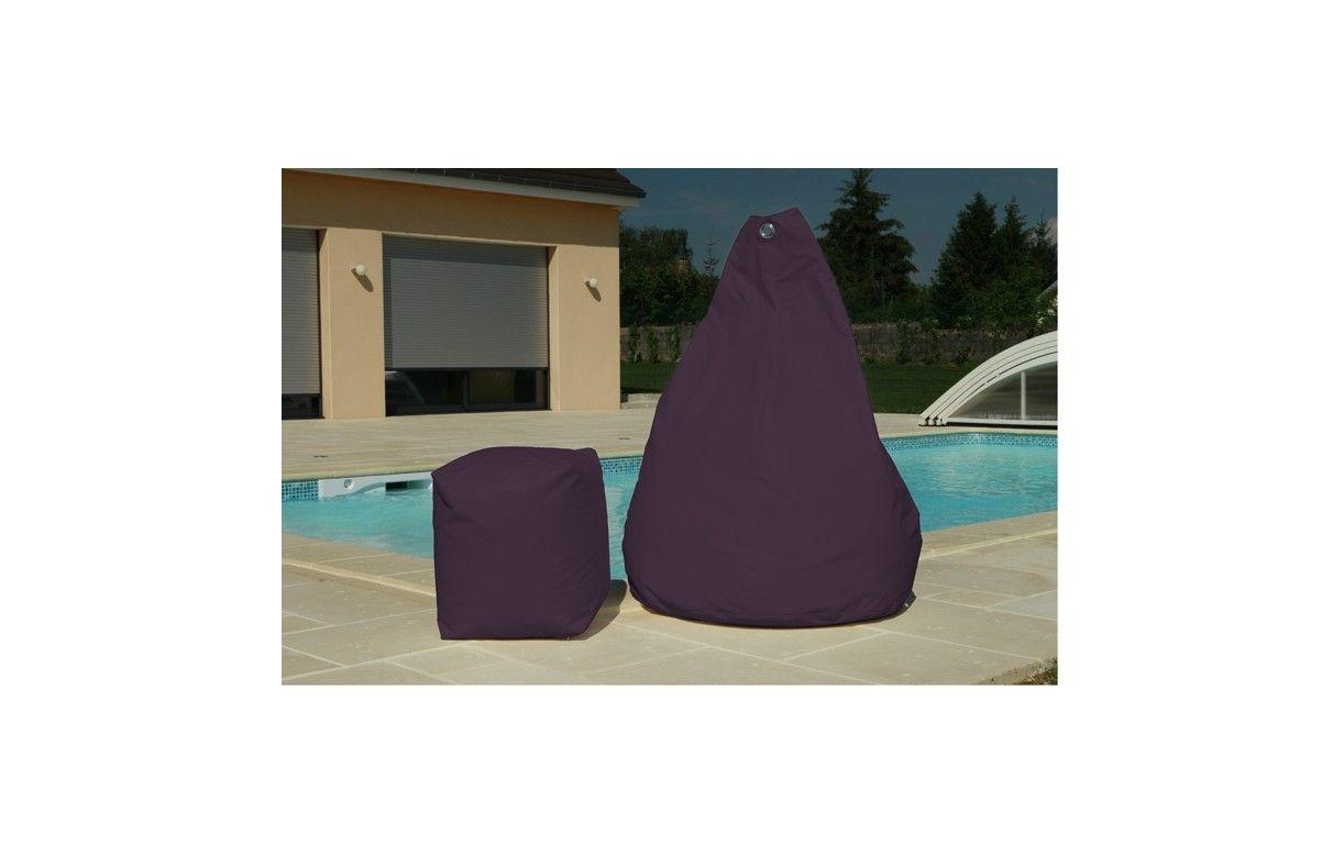 pouf poire ext rieur ou int rieur 12 coloris joon. Black Bedroom Furniture Sets. Home Design Ideas