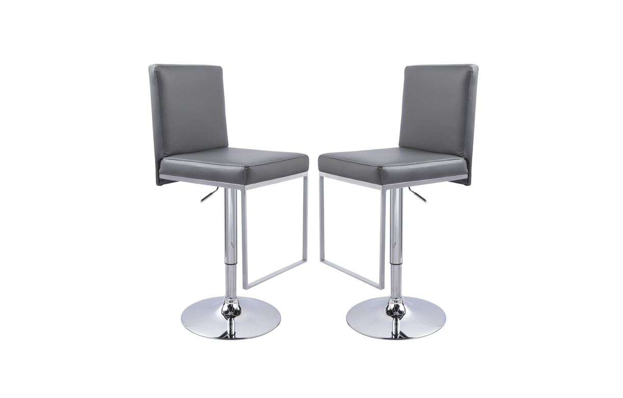 Tabouret de bar avec dossier design set de 2 - Tabouret de bar transparent ...