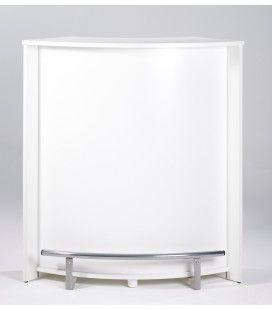 Comptoir de bar design blanc PUB